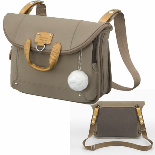 70a829896bac 素材:ナイロンツイルワッシャーPU加工】牛革街歩きからちょっとしたレジャーまで対応の、ショルダーバッグにもリュックサック にもなる2way仕様のバッグです。