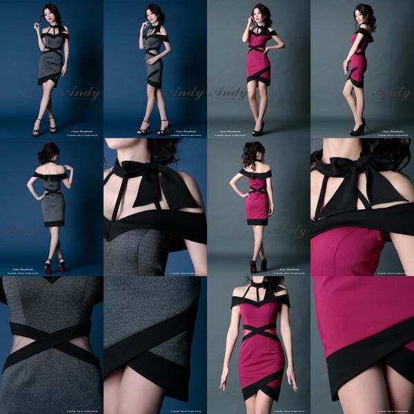 GLAMOROUS ドレス GMS-V400 ワンピース ミニドレス Andy グラマラスドレス クラブ キャバ ドレス パーティードレス