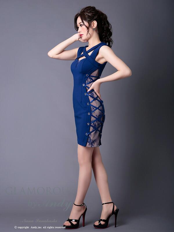GLAMOROUS ドレス GMS-V501 ワンピース ミニドレス Andyドレス グラマラスドレス クラブ キャバ ドレス パーティードレス GLAMOROUS D-SELECTION 04 掲載商品