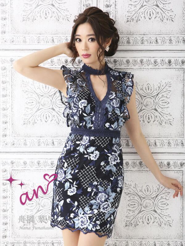 an ドレス AOC-2918 ワンピース ミニドレス Andyドレス アンドレス キャバクラ キャバ ドレス キャバドレス