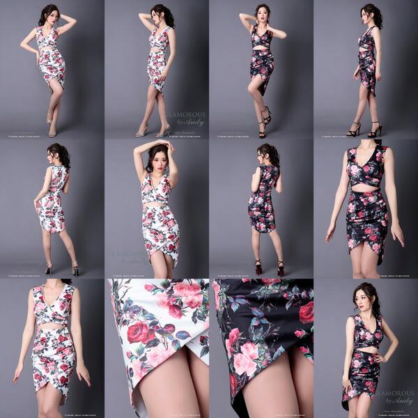 GLAMOROUS ドレス GMS-V502 ワンピース ミニドレス Andy グラマラスドレス クラブ キャバ ドレス パーティードレス