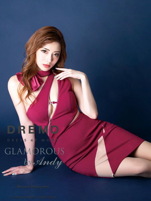 GLAMOROUS ドレス GMS-V537 ワンピース ミニドレス Andy グラマラスドレス クラブ キャバ ドレス パーティードレス