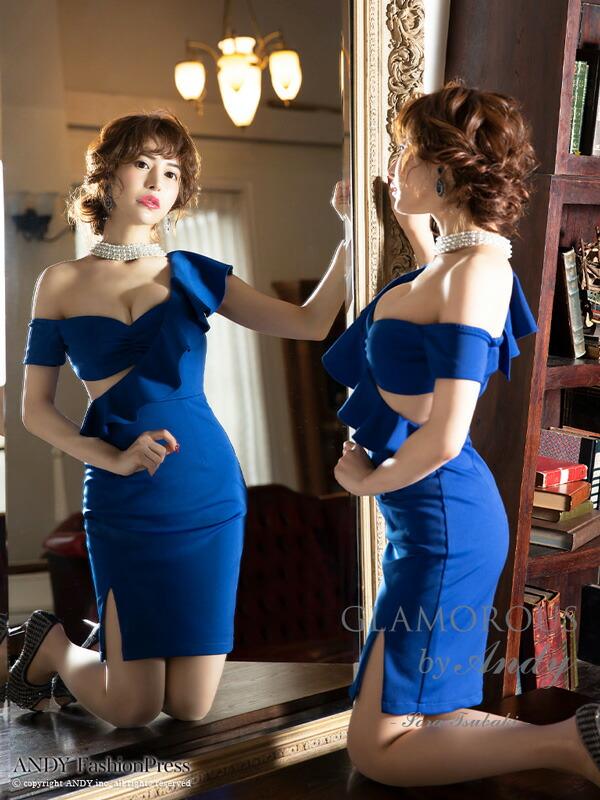 GLAMOROUS ドレス GMS-V601 ワンピース ミニドレス Andyドレス グラマラスドレス クラブ キャバ ドレス パーティードレス