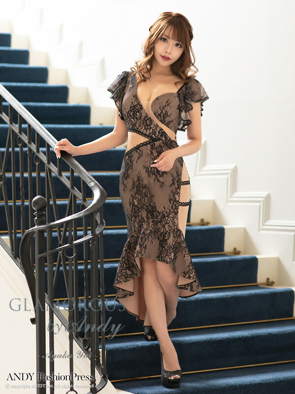 GLAMOROUS ドレス GMS-V677 ワンピース ミニドレス Andyドレス グラマラスドレス クラブ キャバ ドレス パーティードレス