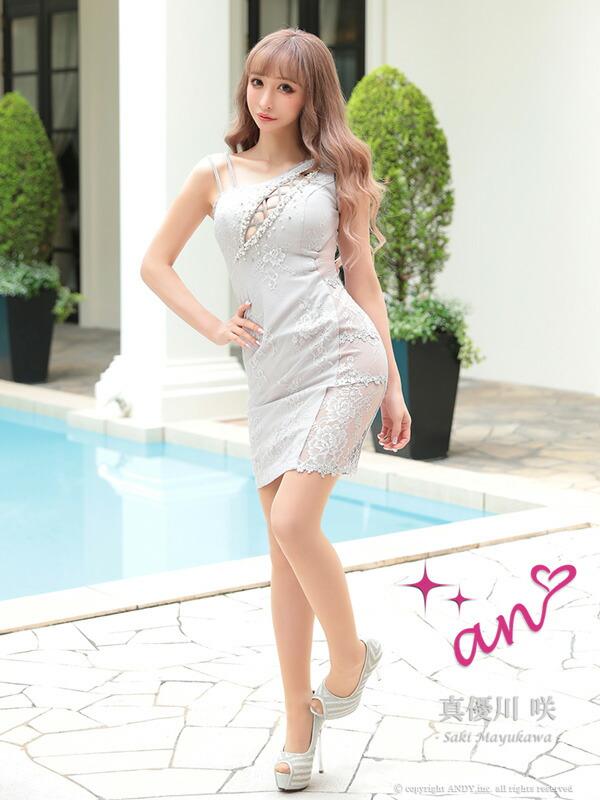 an ドレス AOC-3166 ワンピース ミニドレス Andyドレス アンドレス キャバクラ キャバ ドレス キャバドレス