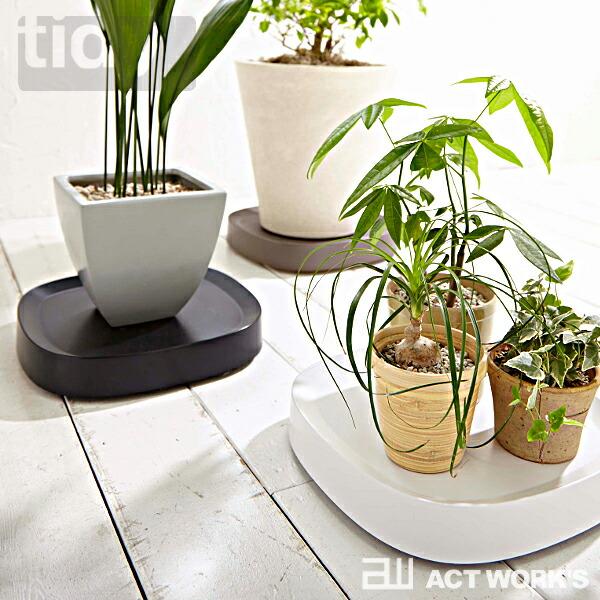 tidy プランタブル 植木鉢トレー