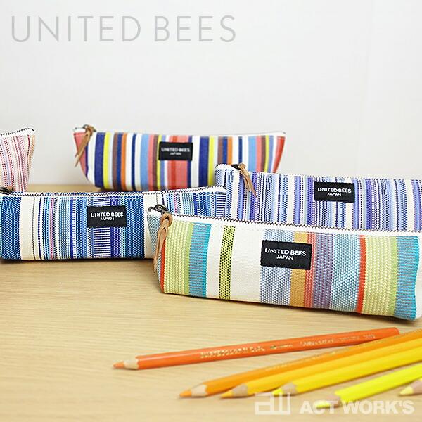 united bees 国産帆布 ボートペンケース