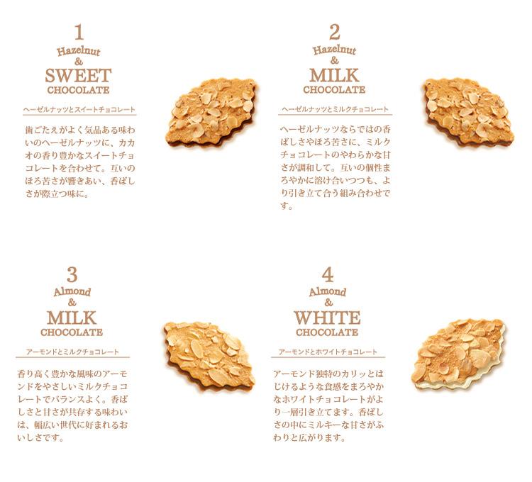 4種の味わい