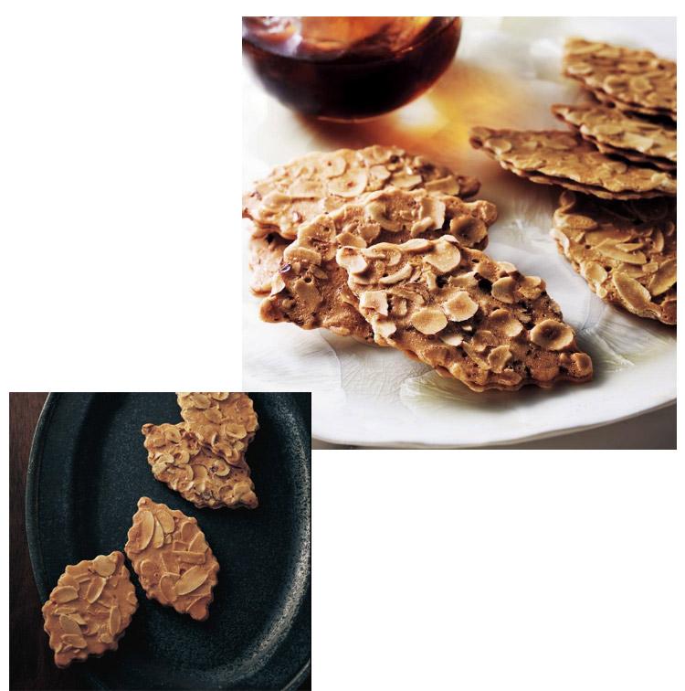 フランス語で「木の葉」を意味する焼き菓子