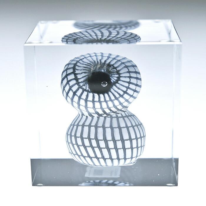 iittala/イッタラ (Nuutajarvi/ヌータヤルヴィ) Oiva Toikka オイバ・トイッカ Annual Cube アニュアル キューブ (箱入り) 《ビンテージ/vintage/ヴィンテージ》  2012年