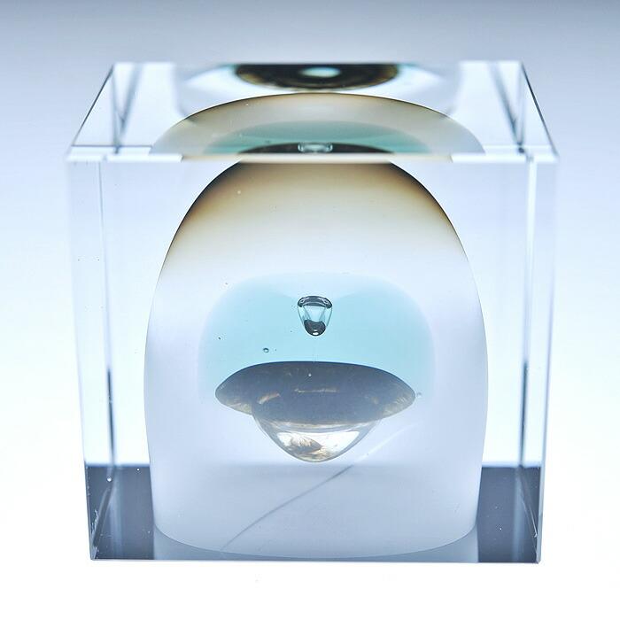 iittala/イッタラ (Nuutajarvi/ヌータヤルヴィ) Oiva Toikka オイバ・トイッカ Annual Cube アニュアル キューブ (箱入り) 《ビンテージ/vintage/ヴィンテージ》  1989年