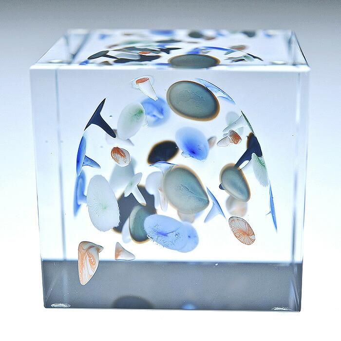 iittala/イッタラ (Nuutajarvi/ヌータヤルヴィ) Oiva Toikka オイバ・トイッカ Annual Cube アニュアル キューブ (箱入り) 《ビンテージ/vintage/ヴィンテージ》  2005年