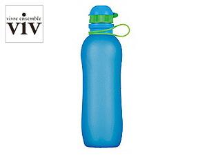 VIV/ヴィヴ シリコンボトルアクティブ 700mL 【SILICONE BOTTLE ACTIVE/水筒】 59895 ブルー