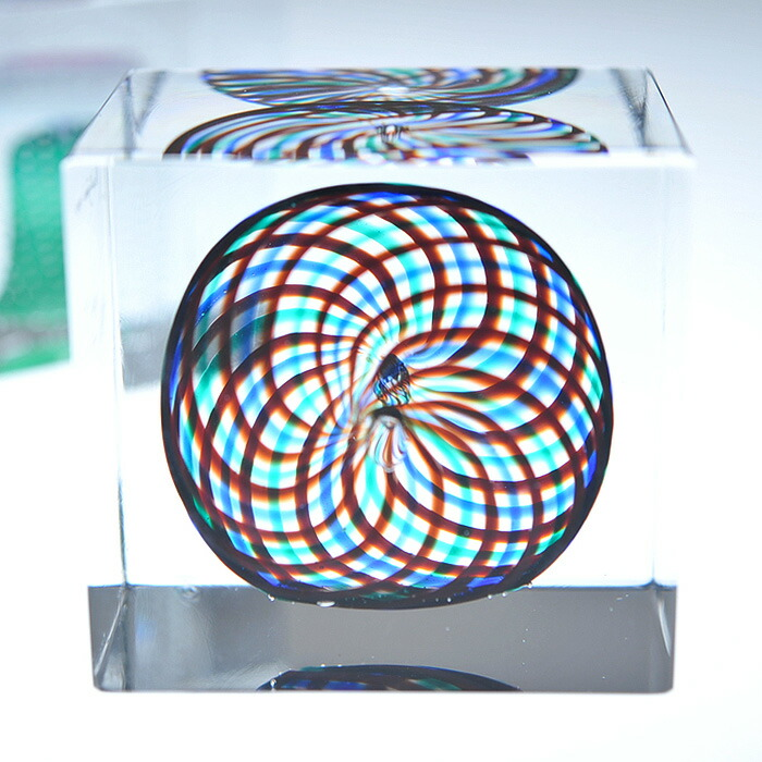 iittala/イッタラ (Nuutajarvi/ヌータヤルヴィ) Oiva Toikka オイバ・トイッカ Annual Cube アニュアル キューブ 《ビンテージ/vintage/ヴィンテージ》  1994年