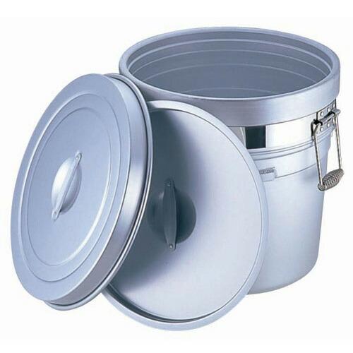 アルマイト 段付二重食缶 (大量用) 250-A (20L) 250-A  (20L)