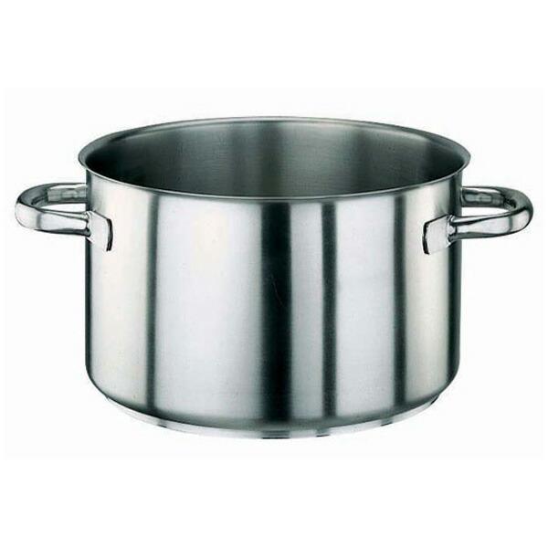 パデルノ 18-10 半寸胴鍋 (蓋無) 1007-22 1007-22 22cm