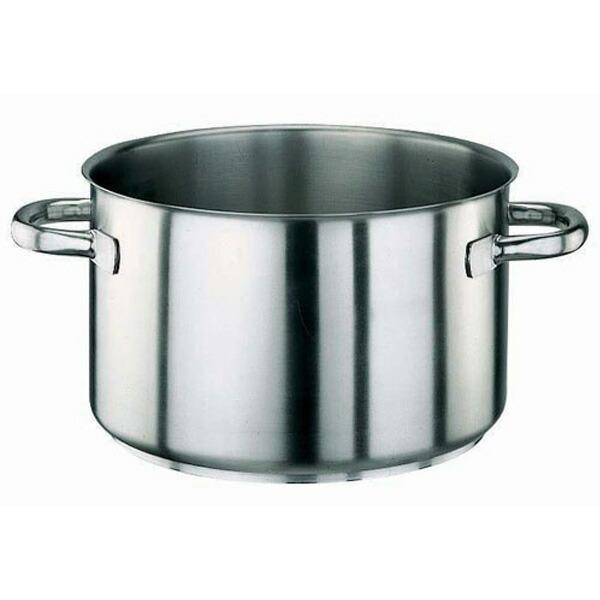 パデルノ 18-10 半寸胴鍋 (蓋無) 1007-24 1007-24 24cm