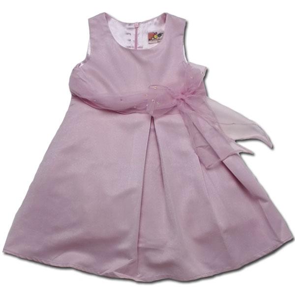 【インポート子供服】美しきジョイス ふんわり広がるシルエットが可愛いドレスで正統派お嬢様の気品を纏う