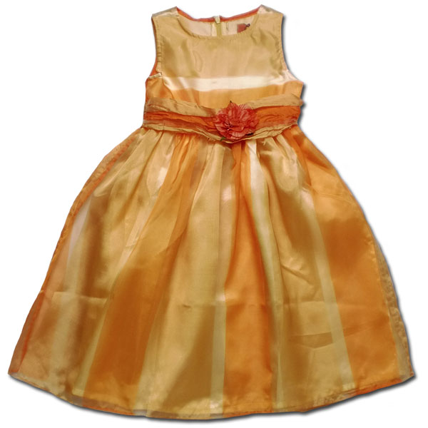 【インポート子供服】雛菊ラメのハイビスカス花柄♪ストレッチジャンパースカートでお嬢様の気品を纏う