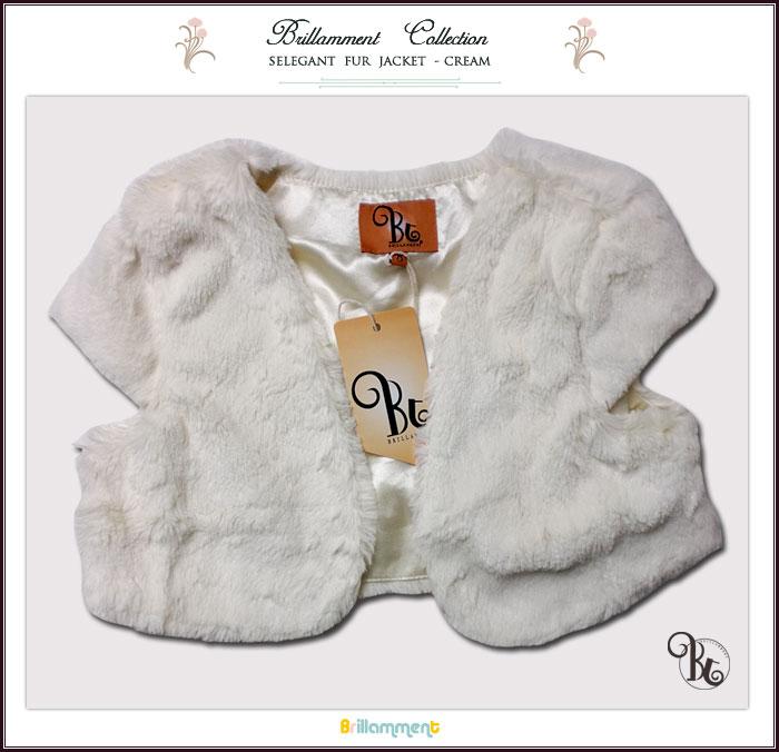 【子供服】フォーマルに映える羽織るだけで華やぎになるジャケット(ファージャケット)