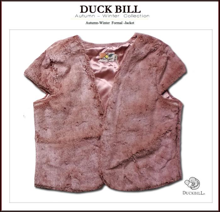 【インポート 子供服】フォーマルに映える羽織るだけで華やぎになるジャケット(ファージャケット)