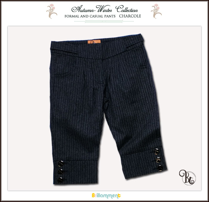 【子供服】履きやすく動きやすさを備えたシンプル上質な美脚で魅せるフォーマルパンツ