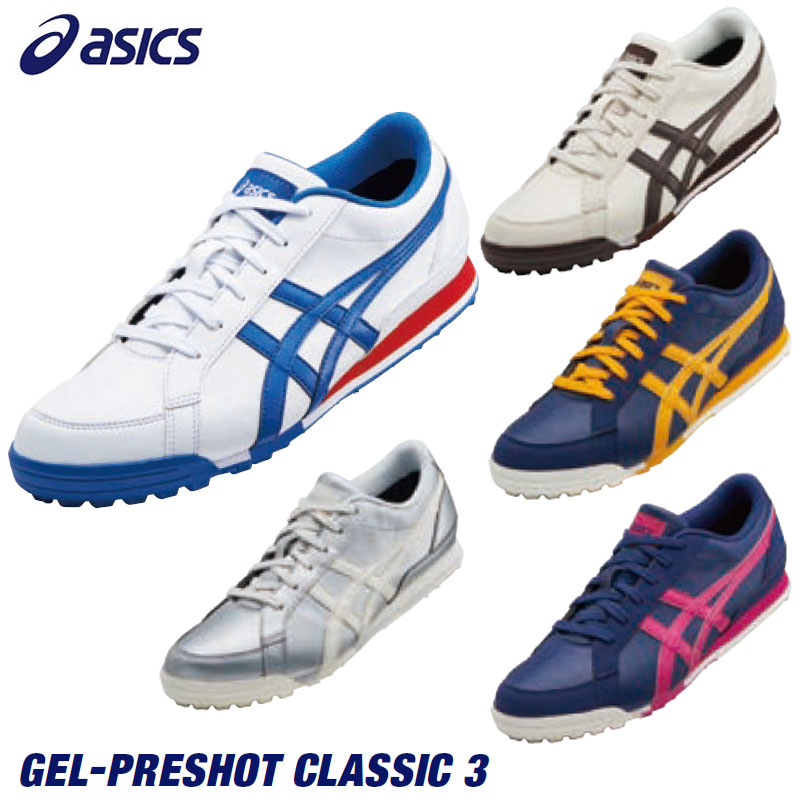 4d8ca189 asics - ASICS - GEL-PRESHOT CLASSIC 3 (gel pre-shot classical music) golf  shoes
