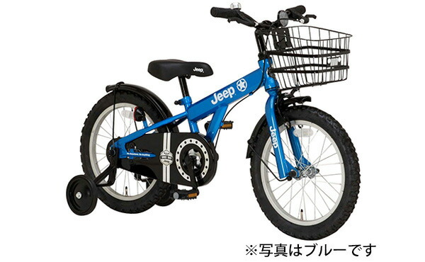 5d54dad7d0 【お店受取り送料無料】 ジープ (JEEP) 16インチ キッズサイクル JE-16G オリーブ 16型 変速なし 子供用自転車 最新の激安