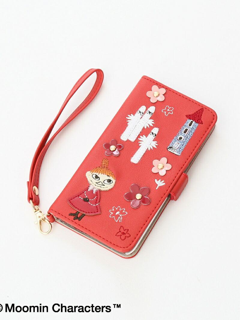 Afternoon Tea Moomin×AfternoonTea/ブック型iPhone8/7/6/6sケース アフタヌーンティー・リビング