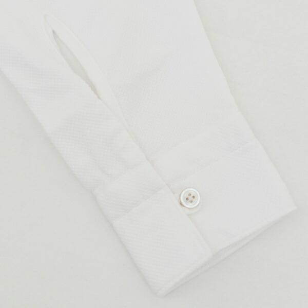 SIMONE-080103-01WHI シャツ ホワイト 2018年春夏新作 カジュアルシャツ フィナモレ/ メンズ TOKIO FINAMORE