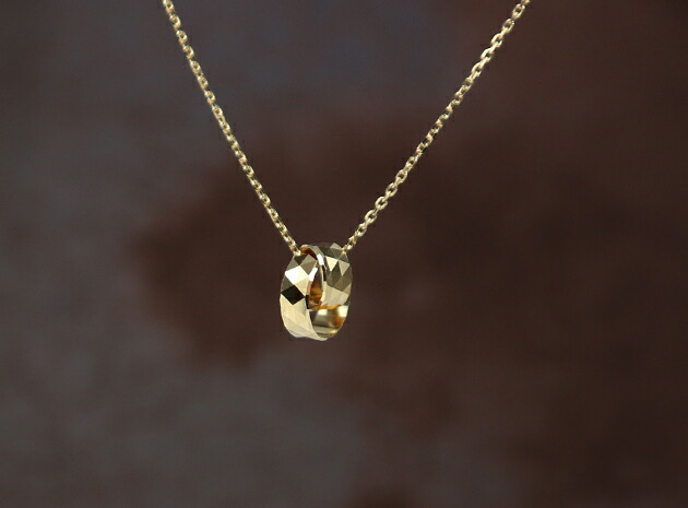 Gold Plated Pink Baby Shoe Pendant  005-g