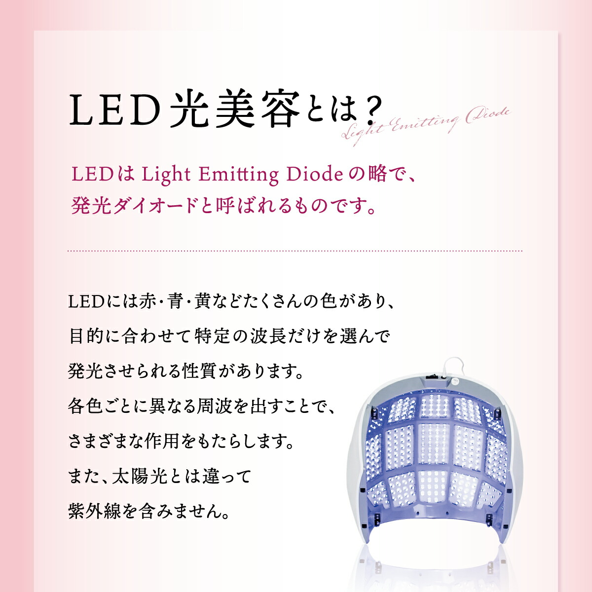 LED美容ライト プレミア