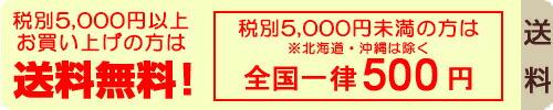 5,250円以上(税込)お買い上げの方は送料無料!