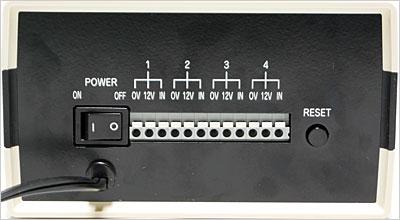 信号入力は4CH