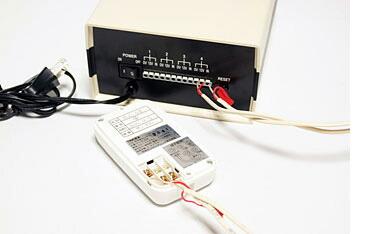 センサーは4台まで接続可能