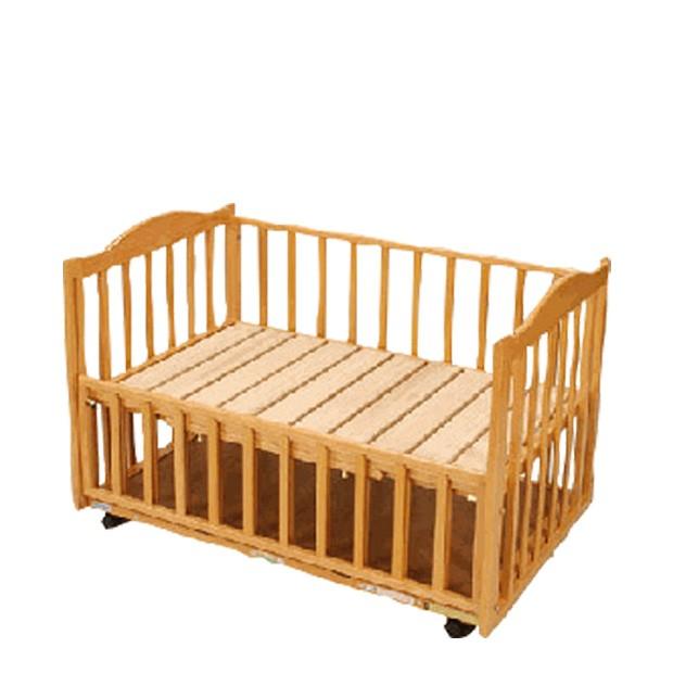 すのこ(床板)ベッド(収納棚付)中型
