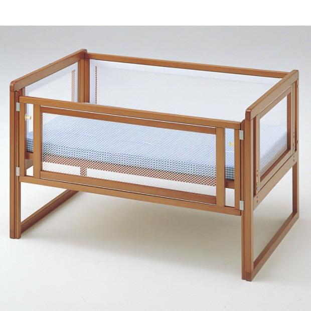 ハート&ハート マット付 小型(100)添い寝ベッド