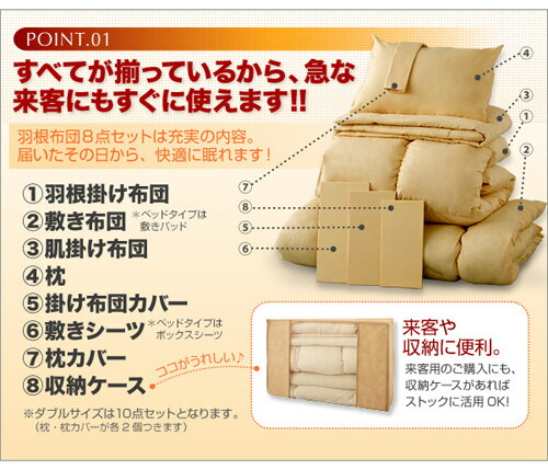 ベッドタイプ マットレス用 20色 綿 布団 1人用 ベッド用 布団セット 1人用 - aimcube画像2