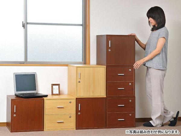 鍵付 引出し 収納 ボックス 押し入れ収納 クローゼット 収納 - エイムキューブ画像1