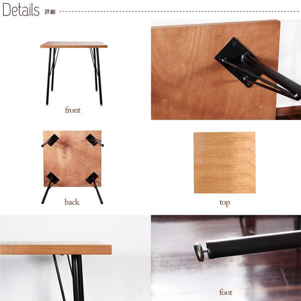 ダイニングセット 2人用 3点セット カフェテーブル 椅子 カフェテーブル セット - エイムキューブ画像3