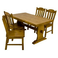 【全商品ポイント10倍!!】浮造りダイニングセット テーブル幅135cm チェア4脚 4人用 食卓ダイニングテーブル 椅子4脚 天然木製 ♪