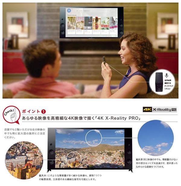 SONY BRAVIA 4K液晶テレビ ソニー ブラビア 65インチ 液晶TV - エイムキューブ画像7