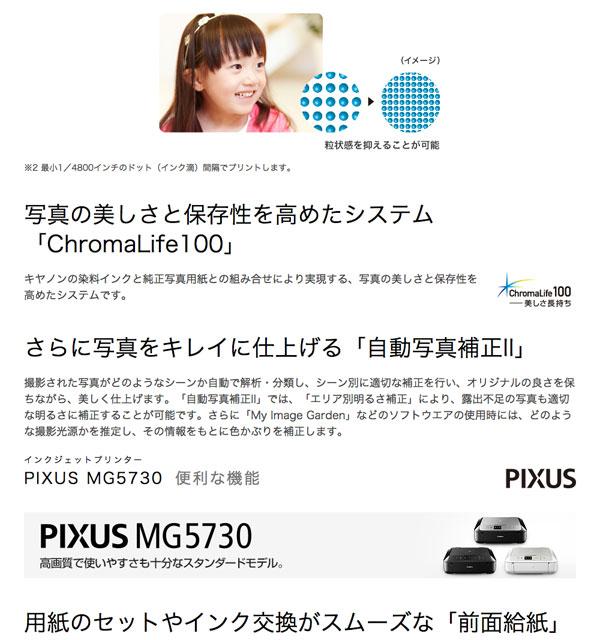 キャノン プリンター ピクサス コピー スキャナ 3色展開 自動両面 2.5型液晶モニタ付き - aimcube画像4
