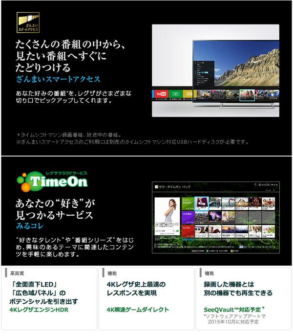 ハイレゾ対応 液晶テレビ 55型 KJ-55X9300C 高画質 高音質 - aimcube画像4