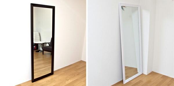 全身鏡 高さ166cm 玄関ミラー ジャンボミラー 転倒防止金具付 完成品!リビングミラー - aimcube画像2