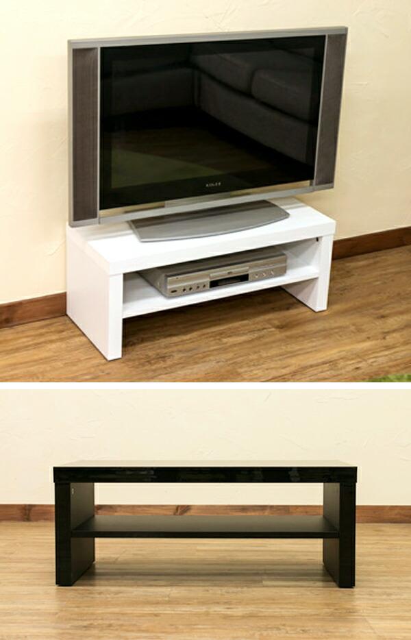 シンプル テレビ台 TVラック AVラック 鏡面仕上げ ロータイプ テレビ台 シンプルデザイン - aimcube画像2