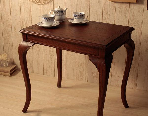 ディスプレイテーブル フラワーテーブル 花台 ネコ脚デザイン メモ用テーブル 電話台 お花置き台 - aimcube画像2