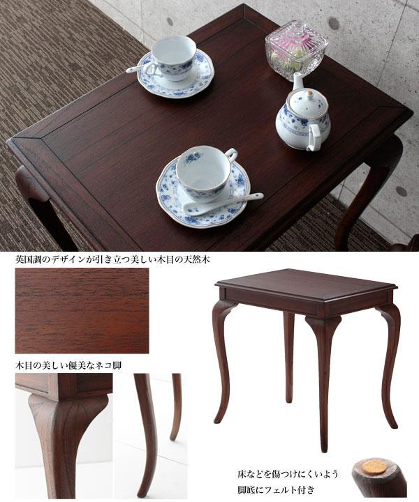 コンソールテーブル 書き物机 引出し付 花瓶台 飾り台 アンティーク調 エントランステーブル - エイムキューブ画像3