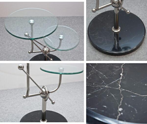 強化ガラス製 サイドテーブル ガラステーブル 飾り台 ミニテーブル 展示テーブル - エイムキューブ画像3