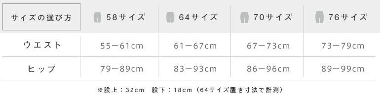 Sサイズ、Mサイズ、Lサイズ、XLサイズ